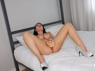 cul, bonasse, gros cul, gros téton, fétiche, masturbation, modèle, star du porno, solo
