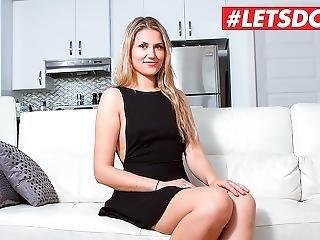 Letsdoeit - Hot French Babe Nailed Hardcore At Casting