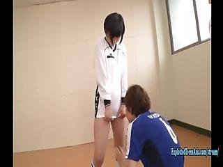 Akira Inamura Is Shamed And Bullied At Training, Female Student Shoves Vibrator Up Her Hole Made To Run The Vibrator Is Turned On The Coach Makes Her Fuck In Front Of Class Perverted Scene