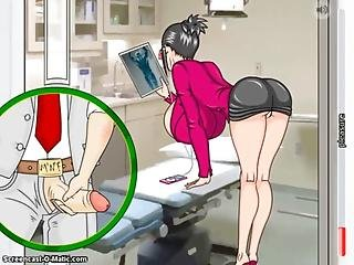 Cartoon, College, Fucking, Hentai, Nurse, Toon