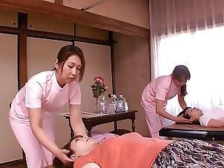 Arsch, Japanisch, Lesbisch, Massage, Reife, Milf