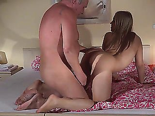 Old And Youthful Hard Fuck Slit Licking And Cum Swallowing Sex