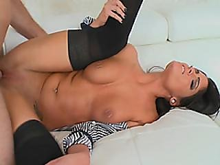 Cheerful Natural Beauty Milf Thrilled By Young Dick