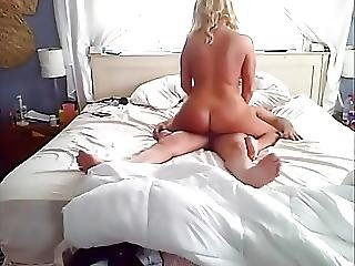 She Rides Dick For His Cum Then Sits On His Face