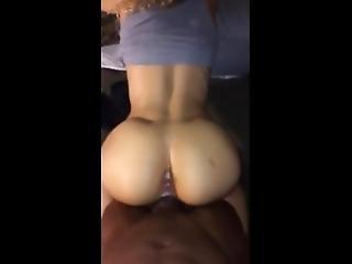 Backshot White Girl