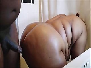 Horny Black Bbw Ebony Mom Milf Gets Her Big Ass Pounded Huge Thick Bbc Cumshot