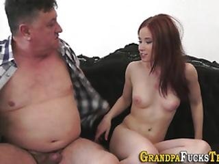 Teenager Fucks Old Dude