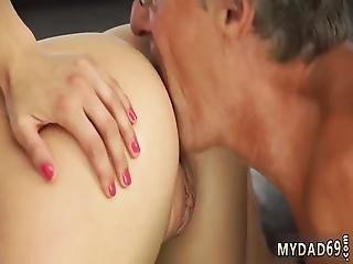 Old Doctor Pregnant And Care First Time Sex With Her Boypal´s Father
