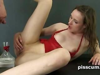 Knallen, Doggystyle, Fetisch, Harter Porno, Pissen, Angepisst Werden, Muschi