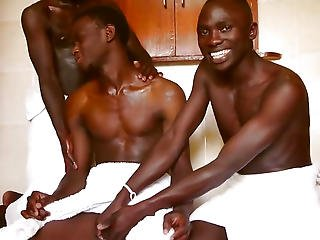 Dark Twinks Perverted Homo Three-some