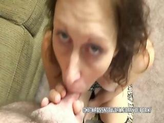 Horny Housewife Trisha Delight Is Swallowing A Stiff Cock