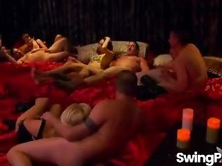 Swinger Couples Having Sexy Orgy In Reality Show