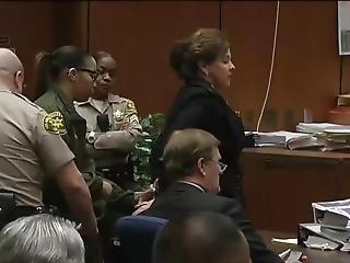Angela Spaccia Handcuffed