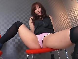 fetiš, japonské, masturbace, kalhotky, pov, škádlení