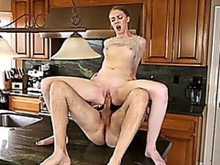 Stepsis Stole My Car Now She Has To Ride On My Cock
