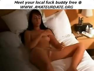 Amateur Brunette Milf Mature Babe Cumshot Orgasm On Webcam Homemade