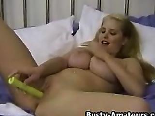 Busty Mariah Bend Over And Start Fingering
