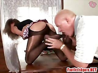 Girl Playing With Male And Seducing