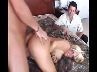 Busty Blonde Swinger Got Creampied