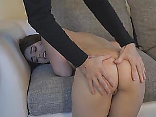 Brunette Teen Kylie Quinn Smooth Ass Hard Hitting Experience