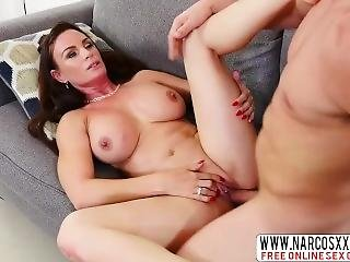 Hungry Step Mother Diamond Foxxx Gets A Sons Cock
