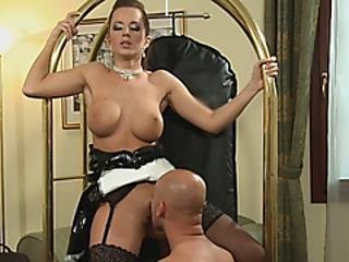 Sexy Maid Gets Banged By Horny Boss