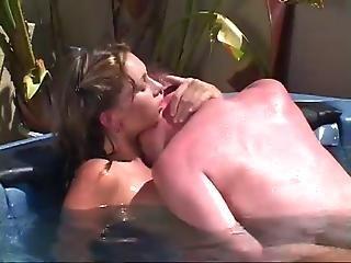 A Fun Fuck In The Hot Tub