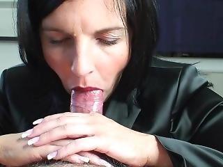 Hot Milf Tongue Blowjob