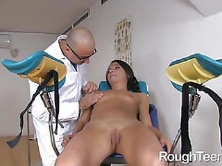 Little Nataly Gold Butt Banged Roughly