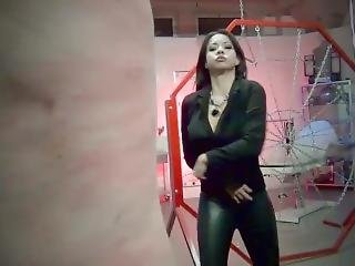 Mistress Kim Lee Whipping Slave