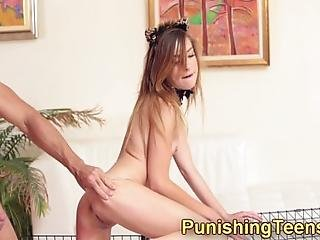 Fetish Skinny Teenager Pounded Over Cage After Throating Big Cock In Hd