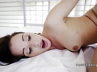 Petite Starlet Working Huge Cock