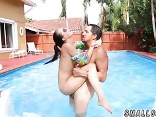 Amateur Teen Pool Threesome And Latin Anal Pain First