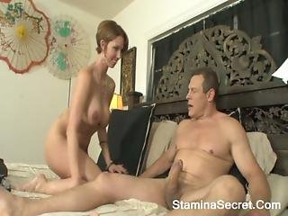 Destiny Porter - Very Hot Golden-haired Chick Do A Tit Fuck Along With Anal Sex