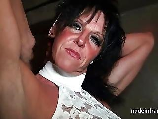 Busty Mom Hard Banged In A Sex Shop Basement
