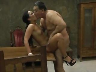 Hot Young Hooker Is Fucked By An Older Client