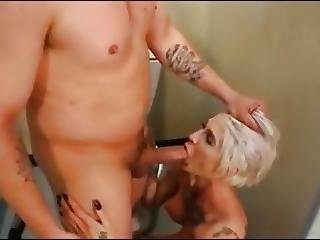 Blonde, Compilation, Cumshot, Gangbang, Groupsex, Swallow