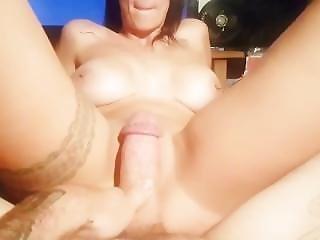 Sexy Milf Riding Cowgirl Pov