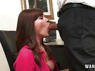 Cute Office Assistant Fucks Her Boss For A Promotion