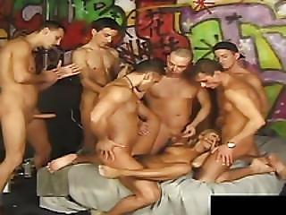 anal, vakker, blond, blowjob, brunette, cumshot, dobbelblowjob, dobbel penetrering, facial, firkant, gruppesex, penetrering, fitte