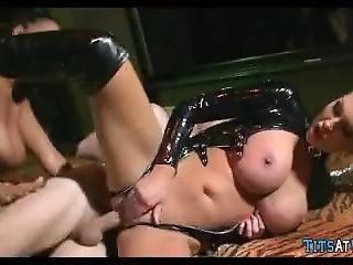 Big Tit Latex Sluts On Cock Hunt