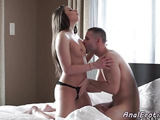 Cute Babe Assfucked Before Sucking Dick