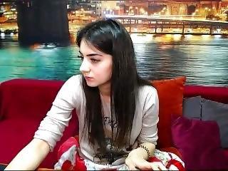 2018-05-28_09-30 M 27987835 000130. Brunette Girl On Sofa