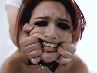Bratty School Teen Goth Lola Fae Punished!