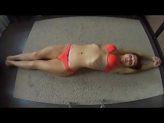 Skinny Concave Belly Stretching