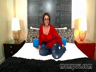 Hot Big Tits Mom Eva Notty Gets A Huge Load Of Cum