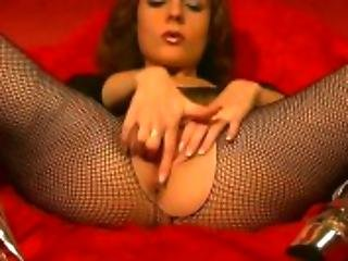 Fishnet Exhibitionist - Julia Reaves
