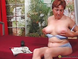 Woman Alone Touching Her Pussy
