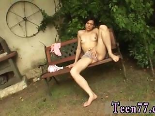 Young Teen Girl Sex Cum Shots Miho Gets Ravaged In The Backyard