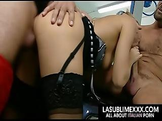 We Pay With Ass Of My Wife Threesome Anal Sex